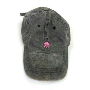 5 for $30 Cotton On Gray Skull Strapback Hat GUC